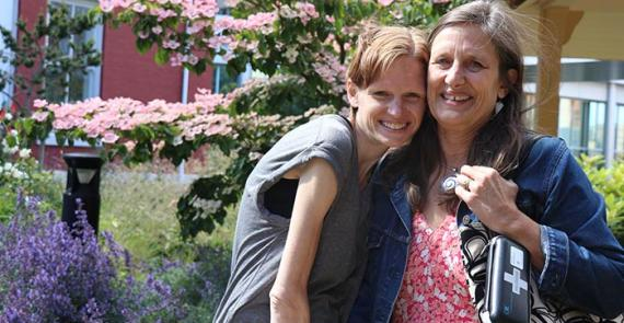Mother and daughter who uses substances show importance of compassion