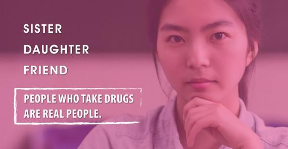 Campaign shows people who uses drugs are real people