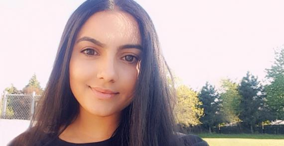 Manjot Sanghera talks about mental health to reduce stigma