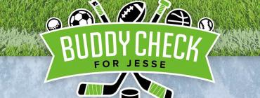 Buddy Check for Jesse sports logo